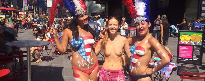 Desnudas | How Painted Boobs Are Threatening NYC