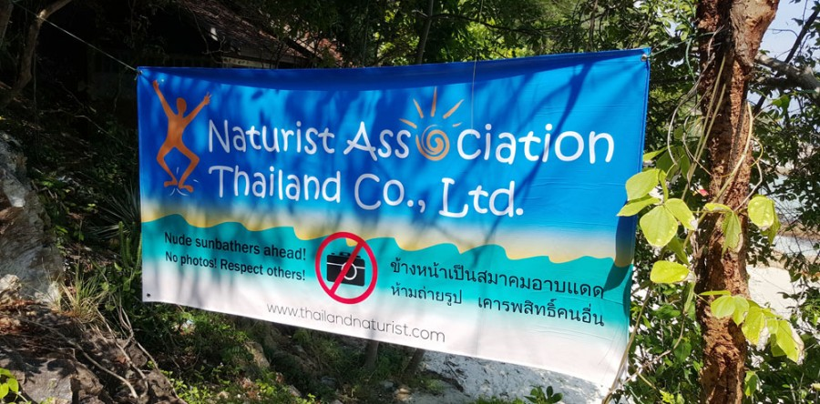 Nude weekend at Ao Nuan on Koh Samet