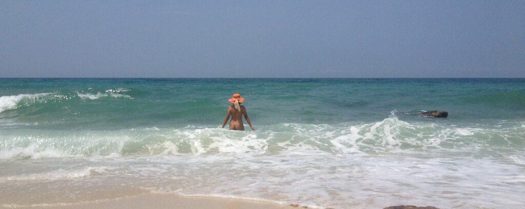 Picnic on a Nude Beach