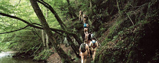 Nude hiking day