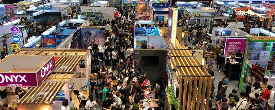 Visit Naturist Association Thailand's booth in Thai Tiew Thai tourism exhibition