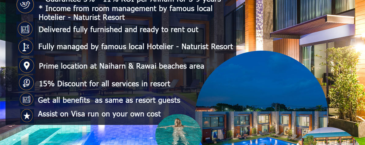 Own your own nudist resort program at Peace Blue Resort Phuket