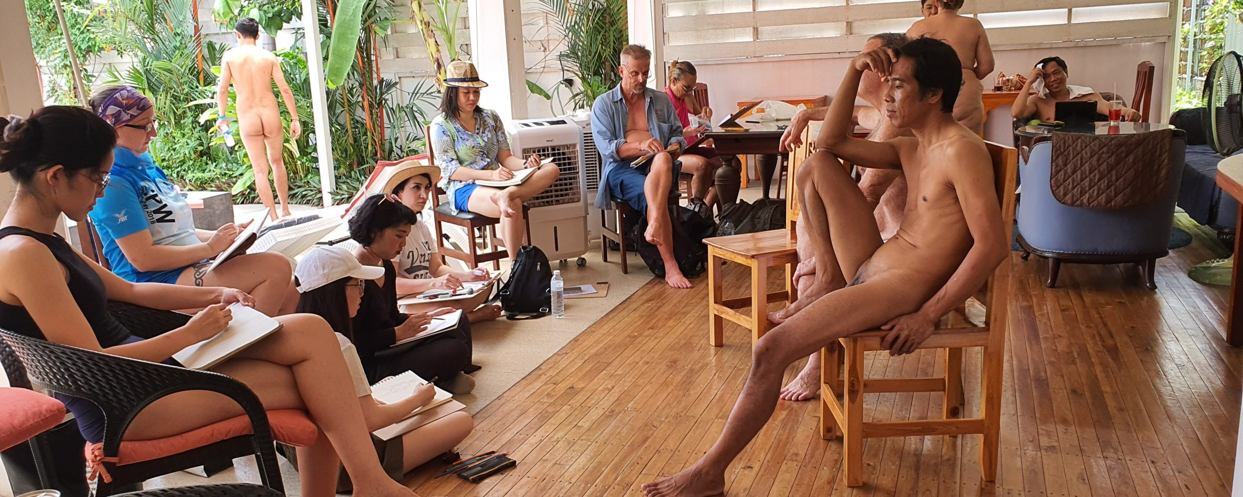 Naked Wonder: Why should you be a nude life model?